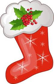 Christmas Stocking Tree Decoration Template by Christmas Stockings Clip Art Free Christmas Stocking Template