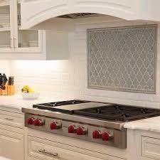 Blue Backsplash Tile by Blue Arabesque Kitchen Cooktop Backsplash Tiles Subway Tiles