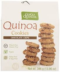 cookie gram gogo quinoa chocolate chips cookies 396 gram ca grocery