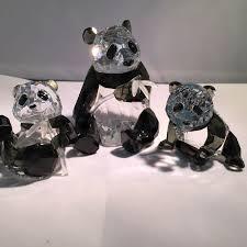 swarovski annual ornament pandas additional panda cub catawiki