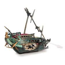 0 56 aquarium decoration half shipwrecks ornament us 8 29 sold out