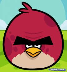 cartoon drawing angry birds draw big brother bird angry