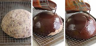 chocolate mousse cookie dough bombe sprinkle bakes