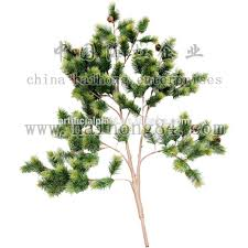 artificial leaves artificial pine tree spray artifical foliage