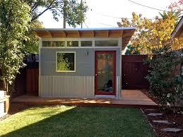 Backyard Shed Ideas Diy Backyard Office Modern Shed Cost Studio Plans Building A