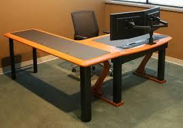 computer desk for dual monitors dual monitor arm caretta workspace