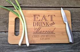 personalized wedding cutting board personalized wedding favors and gifts custom engraved cheese