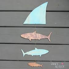 craft klatch diy shark wall hanging craft klatch how to