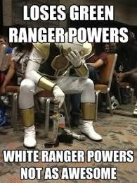 Power Rangers Meme Generator - sitting in an empty theatre waiting for power rangers to start