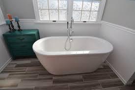 Modern Cottage Bathroom B Chic Interiors Modern Cottage Master Bathroom