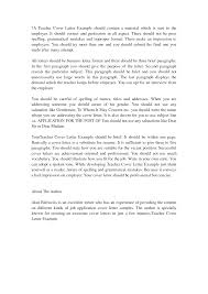 sample cover letters for teachers with experience guamreview com