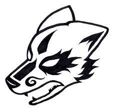 tribal wolf by shadowwolfox on deviantart