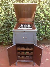 Record Player Cabinet Plans by 1960s Morse Stereophonic High Fidelity Am Fm Phonograph Console