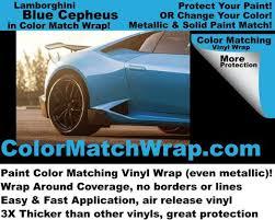 lamborghini blu cepheus vinyl wrap color match wrap u2013 colorx