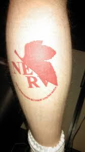 honda tattoos my nerv tattoo evangelion
