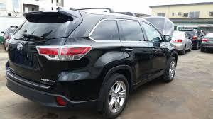 toyota highlander 2015 tokunbo 2015 toyota highlander limited 4wd autos nigeria