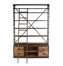 Bookcase With Ladder Http Www Mattblatt Com Au Bookshelf Display Shelf Haines