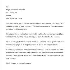 examples of follow up letters after sending resume resume follow