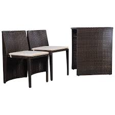 Outdoor Wicker Settee Cushions by Patio Furniture 51 Singular Wicker Patio Set Photo Concept White