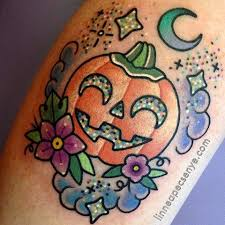 halloween pumpkin tattoo ideas halloween tattoo design images free