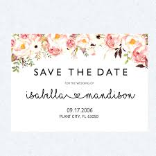 online save the date template save the date template