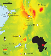 Lake Victoria Map A Demographic Perspective On The Middle To Later Stone Age