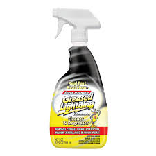 what is the best cleaner to remove grease from kitchen cabinets greased lightning 32 oz strength multi purpose cleaner and degreaser 17569248593 the home depot