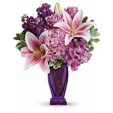 flower delivery utah blushing violet bouquet lehi utah florist haws co flowers and