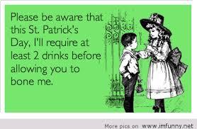 Funny St Patricks Day Meme - funny e card about st patrick s day