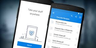 dropbox app for android dropbox for android redesigned to look better for modern mobile