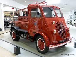 peugeot fire camion dmah service incendie 1948 peugeot museum france