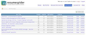 Job Resume Posting Sites Unlimited Job Postings U2014 149 95 Month Resumespider Targeted