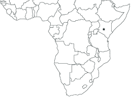 africa map drawing map of sub saharan africa showing the type locality of tetramorium