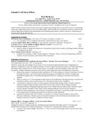 Machinist Resume Example by 100 A Sample Resume A Sample Combination Resume Using