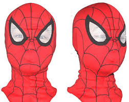 spider man mask etsy