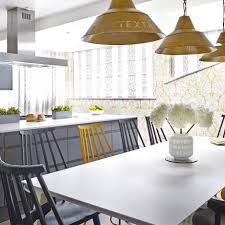White And Yellow Kitchen Kitchen Colour Schemes