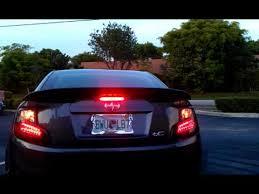 spec d tail lights spec d scion tc2 led tail lights youtube