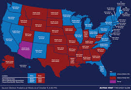 2016 Presidential Election Map by University Project Predicts Presidential Election Results The