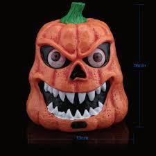 Halloween Party Lights New Sound Sensors Pumpkin Lights Ghost Lamp Halloween Festival