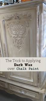 what is the best sealer for chalk painted kitchen cabinets trick to applying wax chalk paint on furniture
