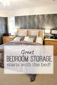 Three Quarter Ottoman Storage Bed Great Bedroom Storage Starts With A Storage Bed Tips