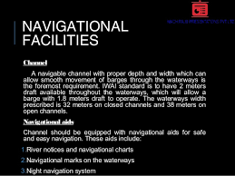 Barge Draft Tables Inland Waterway Transportation Iwt In India