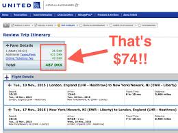 united airlines flight change fee buy first class return tickets from london to newark for 50