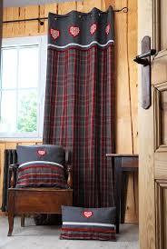 linge de lit style chalet montagne les 25 meilleures idées de la catégorie rideaux montagne sur