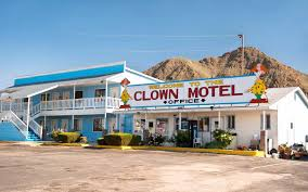ghost towns for sale this creepy clown motel outside las vegas is now for sale travel