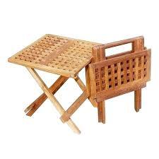 Outdoor Folding Side Table Side Folding Table Luisreguero