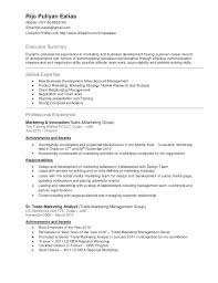 resume in english sample bunch ideas of sample resume for