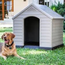 cuccia per cani da esterno tutte le offerte cascare a cuccia per cani nicchia da giardino esterno resina beige marrone