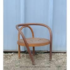 chaise enfant bois chaise enfant fauteuil bébé baumann 1935 bois courbé le palais