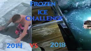 Romanatwoodvlogs Water Challenge Romanatwood Freezing Underwater Challenge 2014 Vs 2018